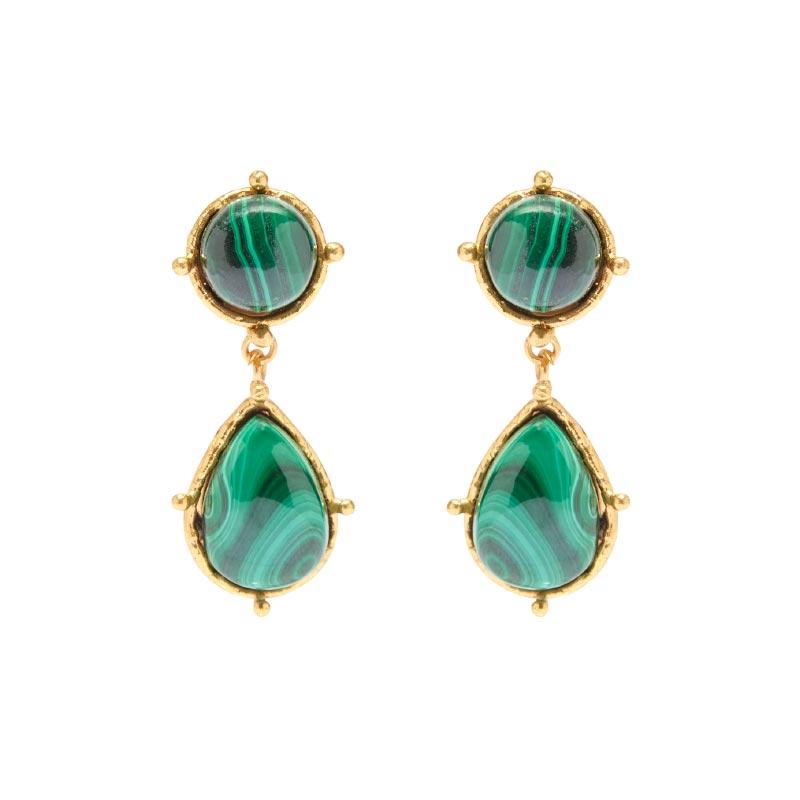 Stone Dots earrings