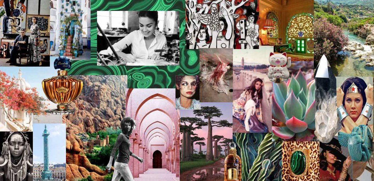 Moodboard inspiration Sylvia Toledano